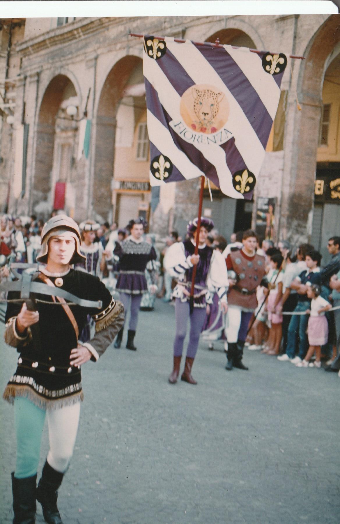 Palio 83  In Piazza del Popolo