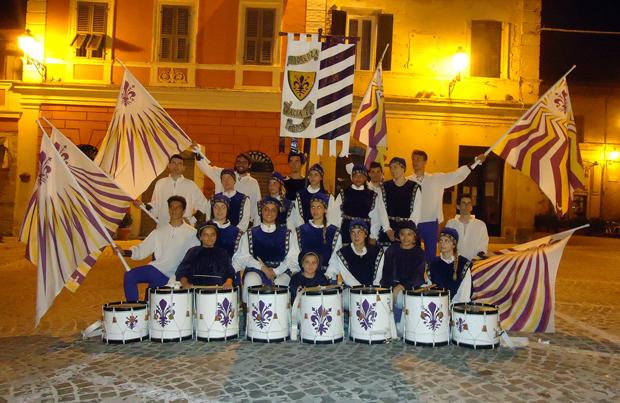 musici e sbandieratori Castelfidardo